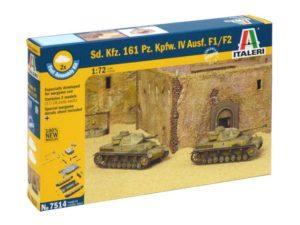 Sd.Kfz.161 Pz.Kpfw.IV F1-F2 (2 FAST ASSEMBLY MODELS)