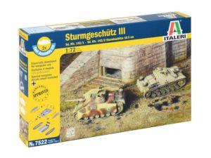 STURMGESCHUTZ III Sd.Kfz.142/1 (2 FAST ASSEMBLY MODELS)